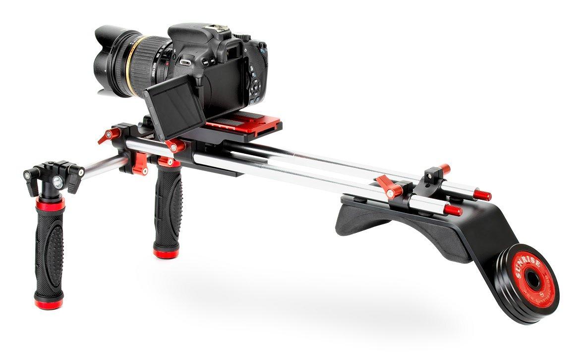 Canon 650D mit Sunrise DSM-802 Rig.