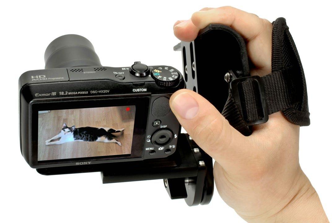 ROKO Camcorder Grip / Griff für DSLR.