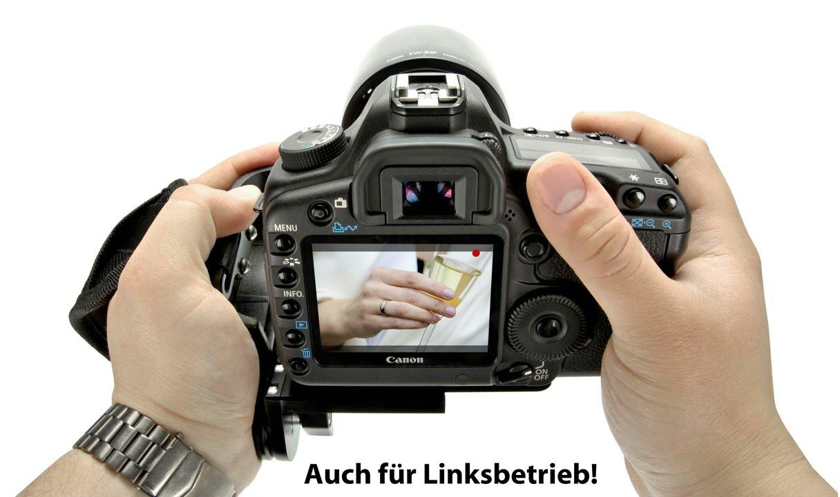 Zwei Hand Betrieb Canon 5D.