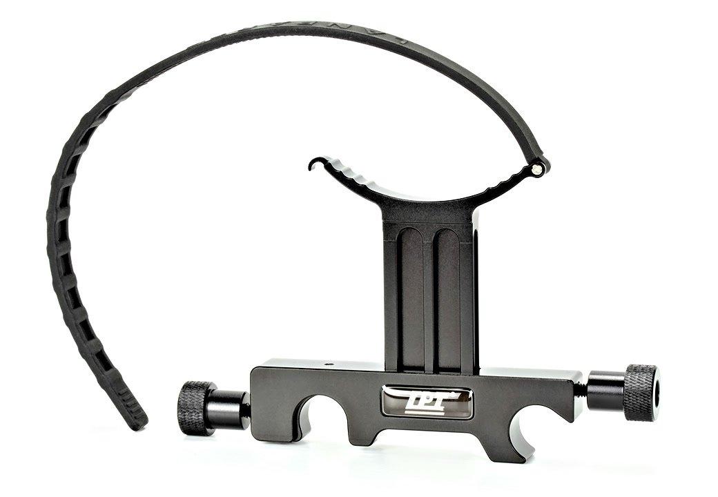 Lanparte TS-02 Tele Lens Support / Objektivstütze mit Anti-Twist Gurt.