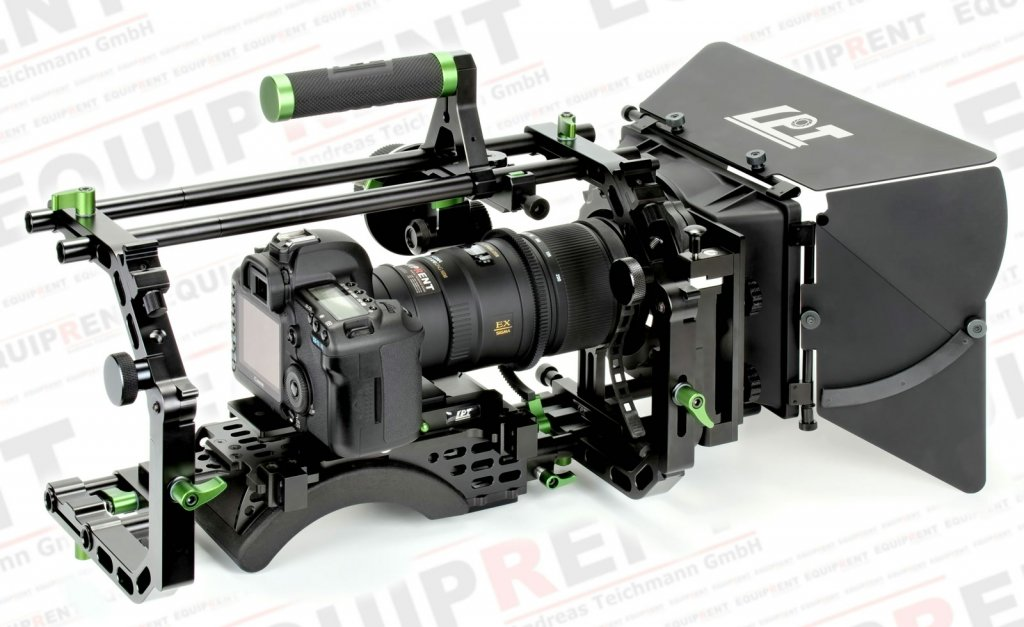 Lanparte PRO Cinema Bundle Camera Cage für Cine Zoom Objektive.