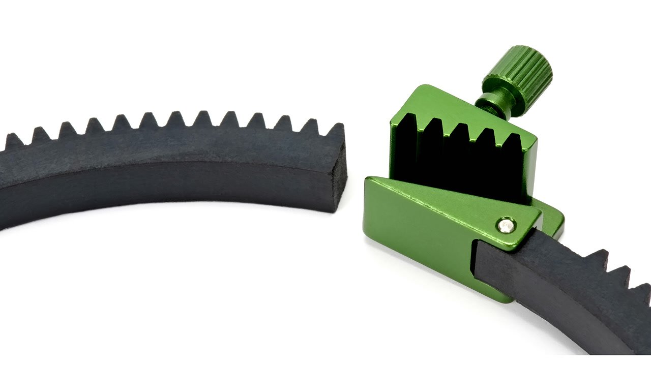 Lanparte FFGR-01 5er Set flexible Zahnringe aus Gummi mit Mod 0.8 im Set Foto Nr. 2