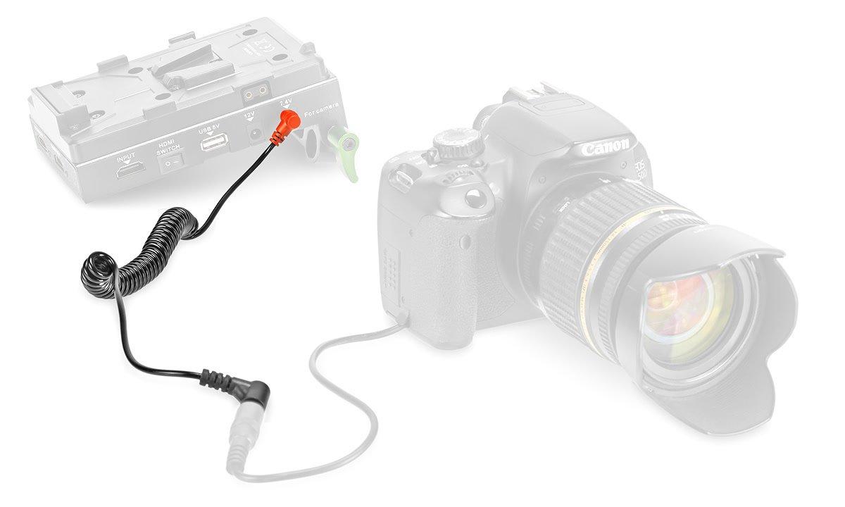 Lanparte Spiralkabel für Akkudummy an Spannungswandler / Battery Pinch Foto Nr. 2