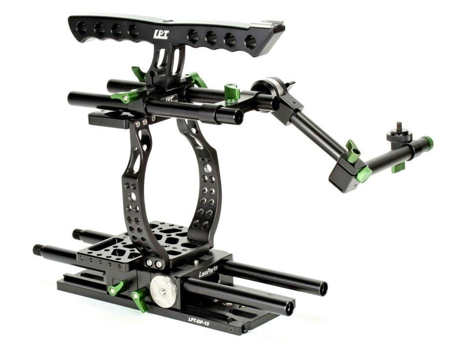 Lanparte BMCC-01 Cage mit MA-02 Magic Arm.