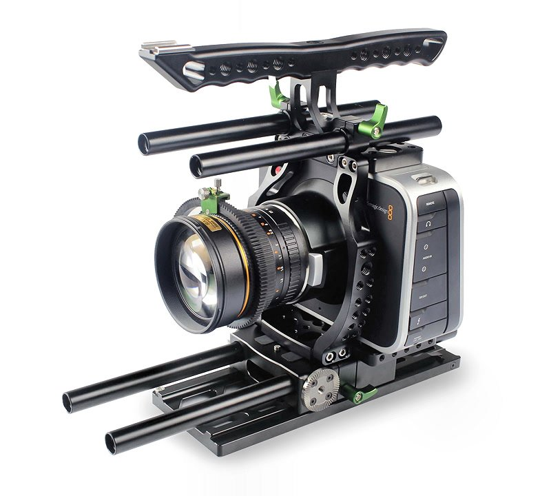 Lanparte BMCC-01 Cage / Kamerakäfig für BlackMagic Cinema Camera.