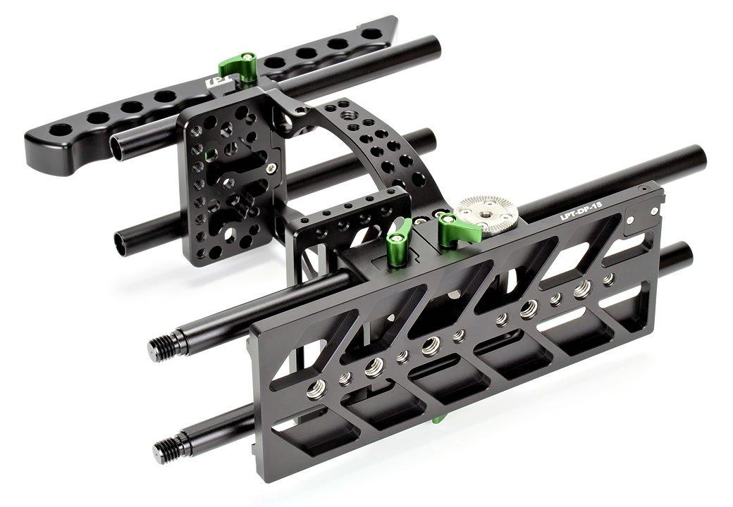 Lanparte BMCC-01 Cage / Kamerakäfig für BMCC + MA-02 Magic Arm für EVF Foto Nr. 8
