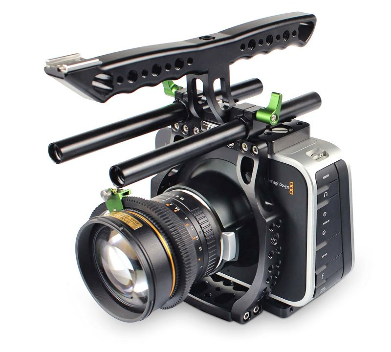 Lanparte BMCC-01B Light Cage / Kamerakäfig f. BlackMagic Cinema Camera.