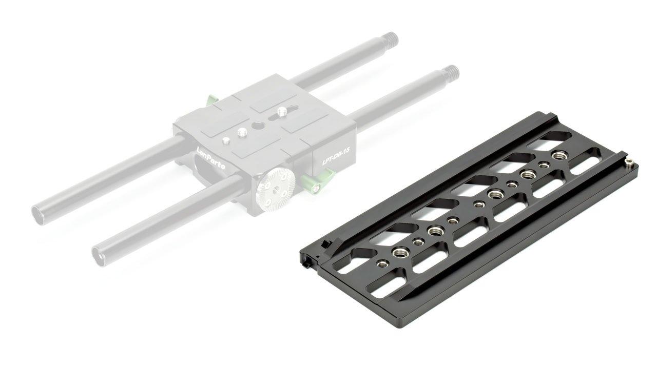 Lanparte DB-15 Baseplate passt optimal auf die Stativadapterplatte.