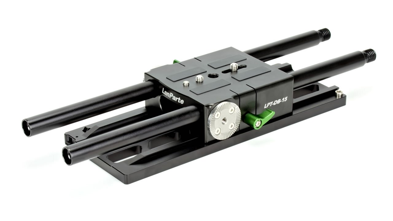 DB-15 Baseplate mit DP-15 Dovetail Plate.