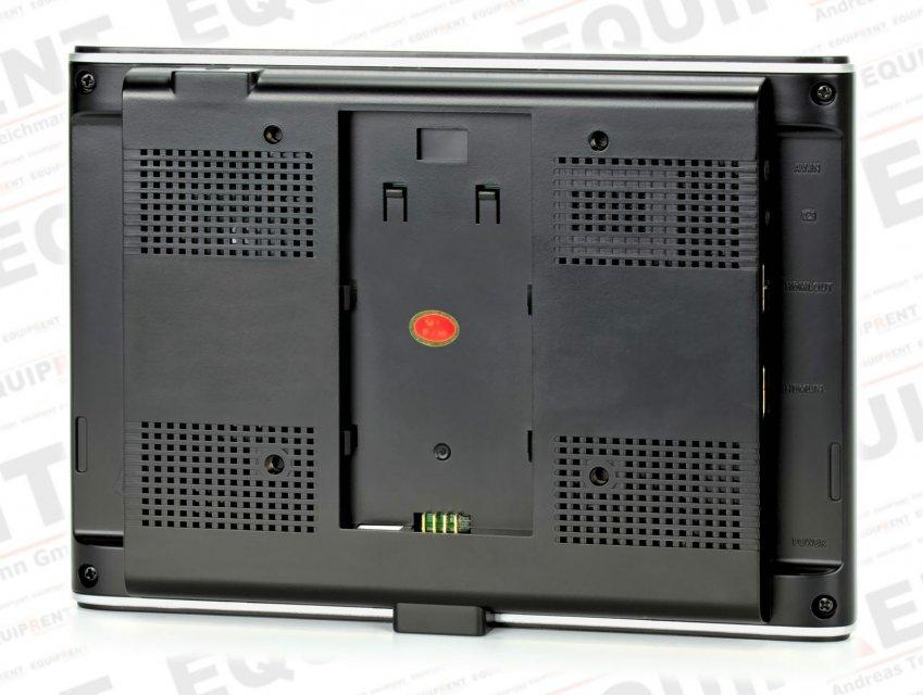 Rückseite Lilliput 664 O Monitor.