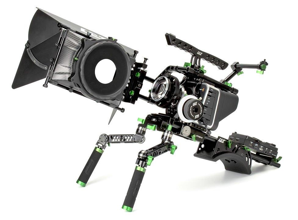 Lanparte Rig für Blackmagic Cinema Camera / Production Camera (BMCC/BMPC).