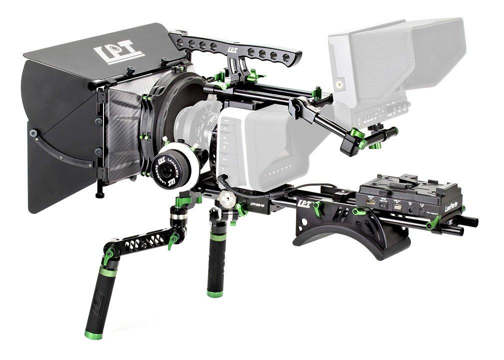 Setup-Vorschlag mit Monitor und Kamera.
