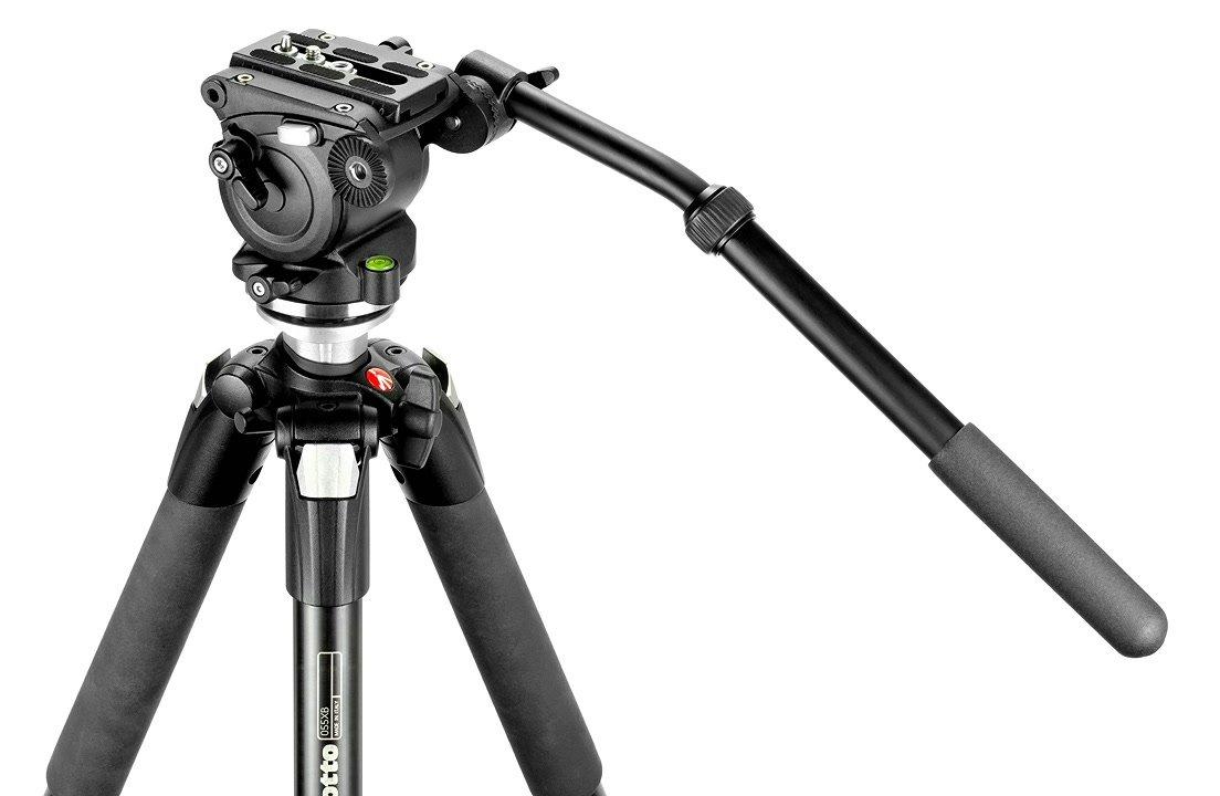 Manfrotto Stativ mit E-IMAGE Videokopf.