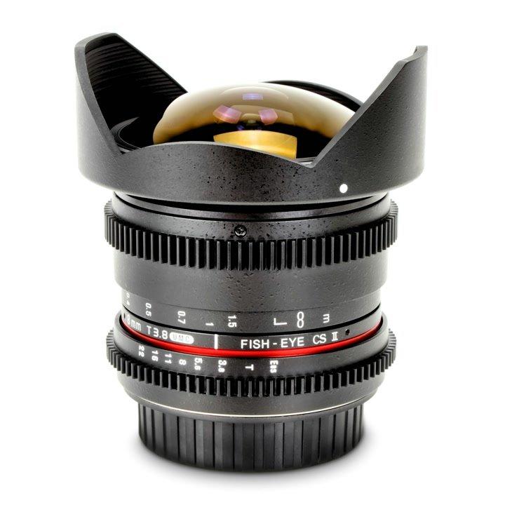 Samyang 8mm / t3.8 VDSLR Fisheye CS II Objektiv (Canon EF-S) Foto Nr. 3