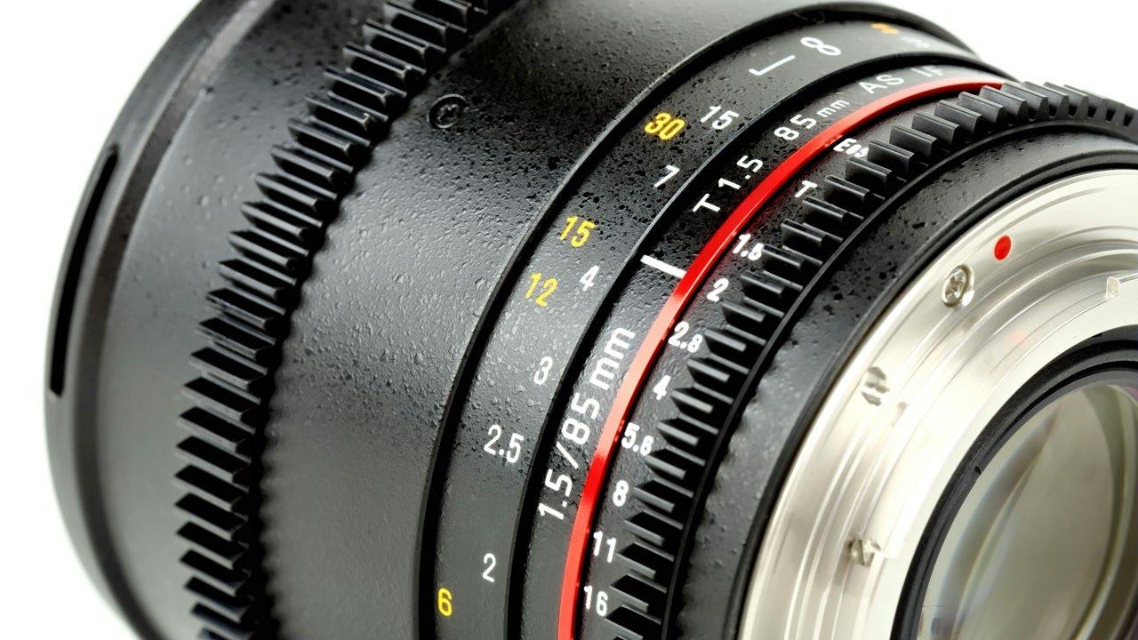 Samyang 85mm / t1.5 VDSLR Objektiv mit Mod 0.8 (Canon EF/EF-S) Foto Nr. 2