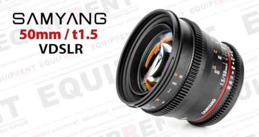 Samyang 50mm t1.5 Weitwinkel für VDSLR